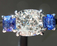 SOLD......2.04ct H I1 Cushion Cut Diamond Ring R6338