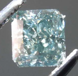 .51ct Blue-Gray SI2 Radiant Cut Diamond R7769