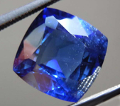 SOLD....4.45ct Blue Cushion Cut Sapphire R7905