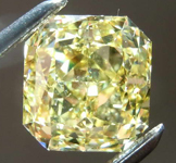 2.01ct Intense Yellow SI1 Radiant Cut Diamond R7911