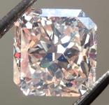 2.13ct Light Brown VS2 Radiant Cut Diamond R7923