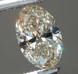 SOLD......0.48ct W-X VS1 Oval Diamond R7936