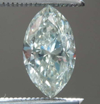 .77ct Faint Gray I1 Marquise Diamond R7937