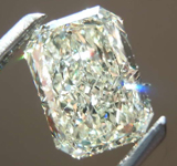 1.29ct U-V VS2 Radiant Cut Diamond R7929