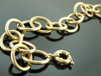 14karat Yellow Gold Bracelet R7974
