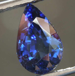 SOLD.....2.51ct Blue Pear Shape Sapphire R7973