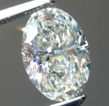 1.07ct J SI1 Oval Diamond R7813