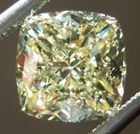 2.20ct Fancy Yellow IF Cushion Cut Diamond R7956