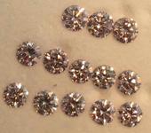 1.15ctw Pink Argyle Round Diamond Parcel R8016