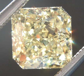 SOLD.......1.50ct Yellow VS1 Radiant Cut Diamond R8002