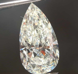 4.03ct L I1 Pear Shape Diamond GIA R8038
