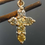 SOLD......50ctw Yellow Round Brilliant Diamond Necklace R7995