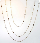 8.85ctw Natural Brown Diamond Necklace R7483