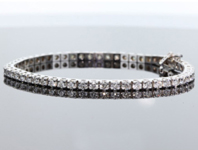 4.43ctw G-H SI1 Diamond Bracelet R8073
