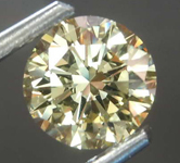 1.00ct Yellow Round Brilliant Diamond R8080