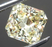2.00ct Greenish Yellow SI1 Radiant Cut Diamond R8086