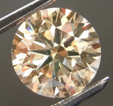 2.24ct Brown SI2 Round Brilliant Diamond R8091