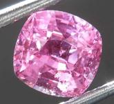 1.43ct Pink Cushion Cut Sapphire R8083
