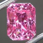 1.69ct Pink Radiant Cut Sapphire R8131