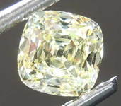 .71ct Yellow IF Cushion Cut Diamond R8126