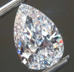 SOLD.....1.13ct F VS1 Pear Shape Diamond R8157