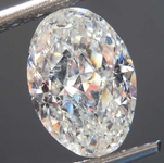 3.26ct I SI2 Oval Shape Diamond R8162
