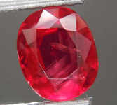 1.62ct Oval Ruby R8171
