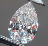 SOLD......51ct D VVS2 Pear Shape Diamond R8173