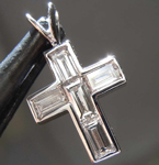 .45ctw G VS Diamond Cross Pendant R8014
