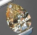 .41ct Brownish Yellow VS2 Pear Shape Diamond R8184