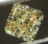 1.81ct Intense Yellow VS1 Radiant Cut Diamond R8207