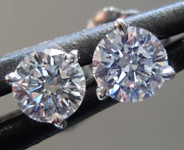 .54ctw G VS Round Brilliant Diamond Earrings R8194