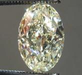 2.02ct U-V VS2 Oval Diamond Ring R8234