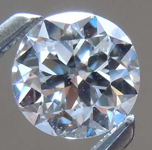 SOLD......0.61ct E VS2 Round Brilliant Diamond R8233