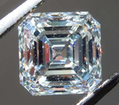 2.01ct J VS1 Asscher Cut Diamond R8320