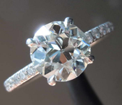 SOLD... 1.48ct K VS1 Old European Brilliant Diamond Ring R8289