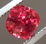 1.01ct Cushion Cut Ruby R8337