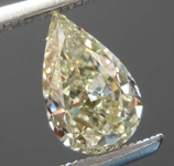 0.77ct U-V VVS1 Pear Shape Diamond R8401