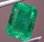 2.86ct Emerald Cut Emerald R8398