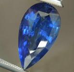 3.13ct Blue Pear Mixed Cut Sapphire R8402