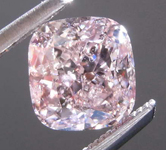 1.05ct Fancy Brown-Pink I1 Cushion Cut Diamond R8407