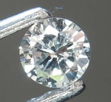 0.10ct Very Light Blue SI2 Round Brilliant Diamond R8413