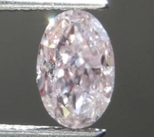 0.70ct Brownish Pink I1 Oval Shape Diamond R8416