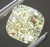 1.21ct W-X VVS2 Cushion Cut Diamond R7605