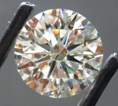 7.58ct N VS2 Round Brilliant Diamond R8466