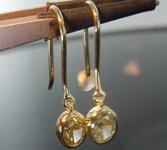 1.09ct U-V VS1 Oval Diamond Earrings R8436
