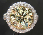 4.01ct Y-Z I1 Round Brilliant Diamond Ring R8471