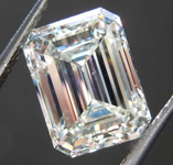 3.03ct K VS2 Emerald Cut Diamond R8506