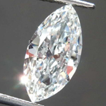 1.14ct G SI2 Marquise Diamond R8529