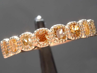 0.99ctw Assorted Fancy Color Diamond Band R8530